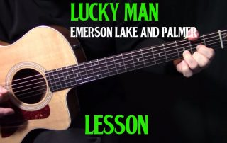 """How to play """"From the Beginning"""" on acoustic guitar by Emerson Lake and Palmer_Greg Lake lesson"""