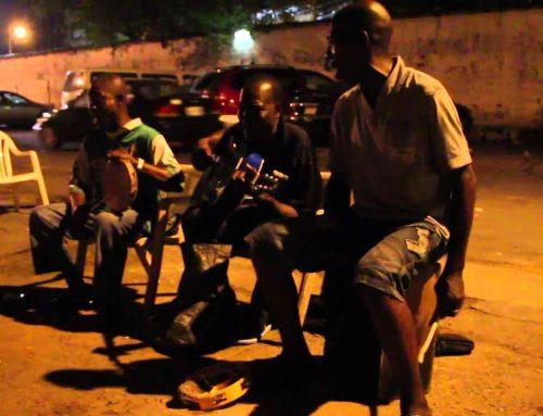 Live Agidigbo Music on Lagos Island, Nigeria