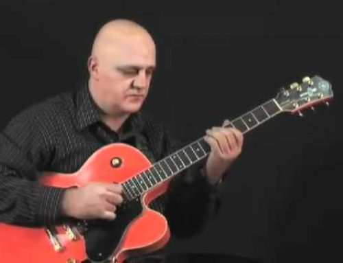 Guitar Solo Gambale Blues Lesson