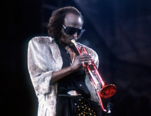 Miles Davis Tutu Giants Stadium