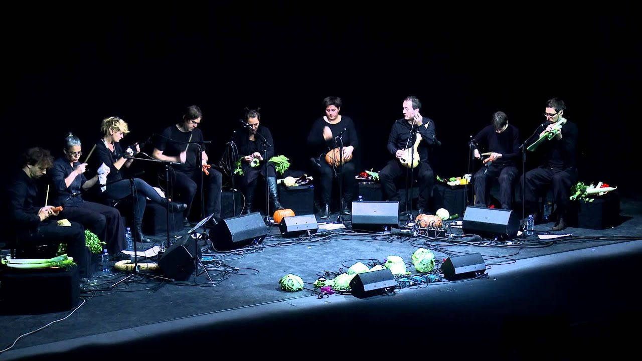 The Vegetable Orchestra - Transplants, live @ TEDxVienna