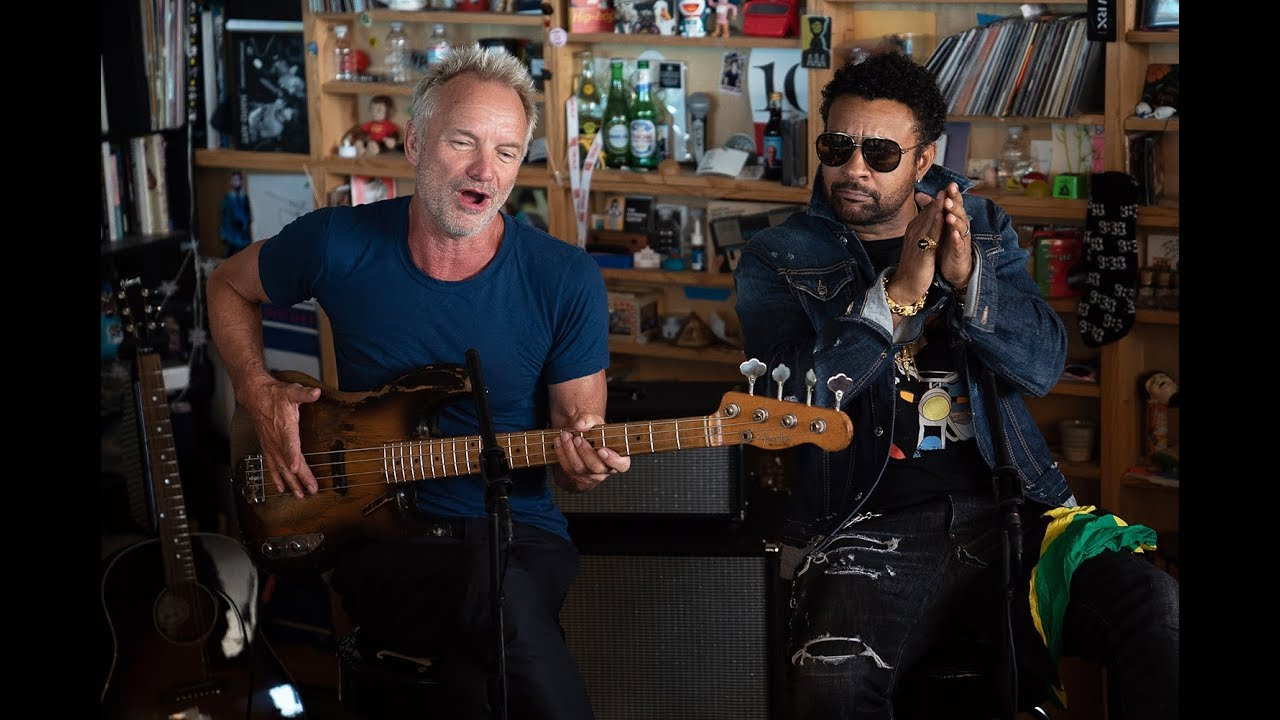 Sting And Shaggy: NPR Music Tiny Desk Concert